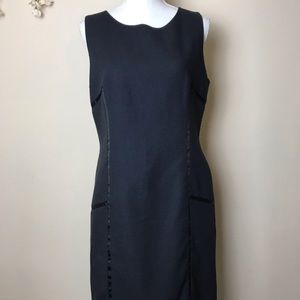 J. McLaughlin Black Sleeveless Dress Size 10